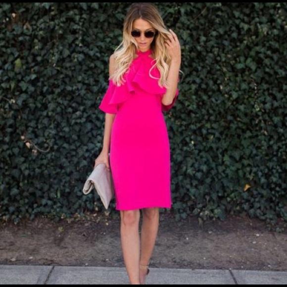 e082b4fa02 Dresses | Hot Pink Dress | Poshmark